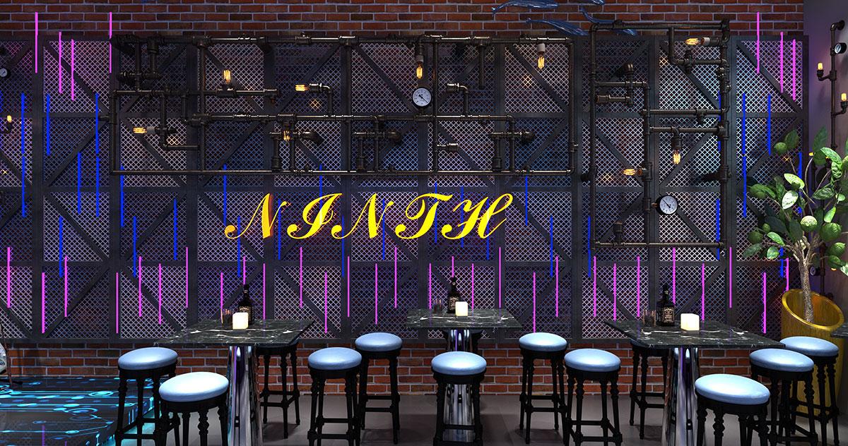 酒吧展示设计也是可以这么刚硬和潮酷