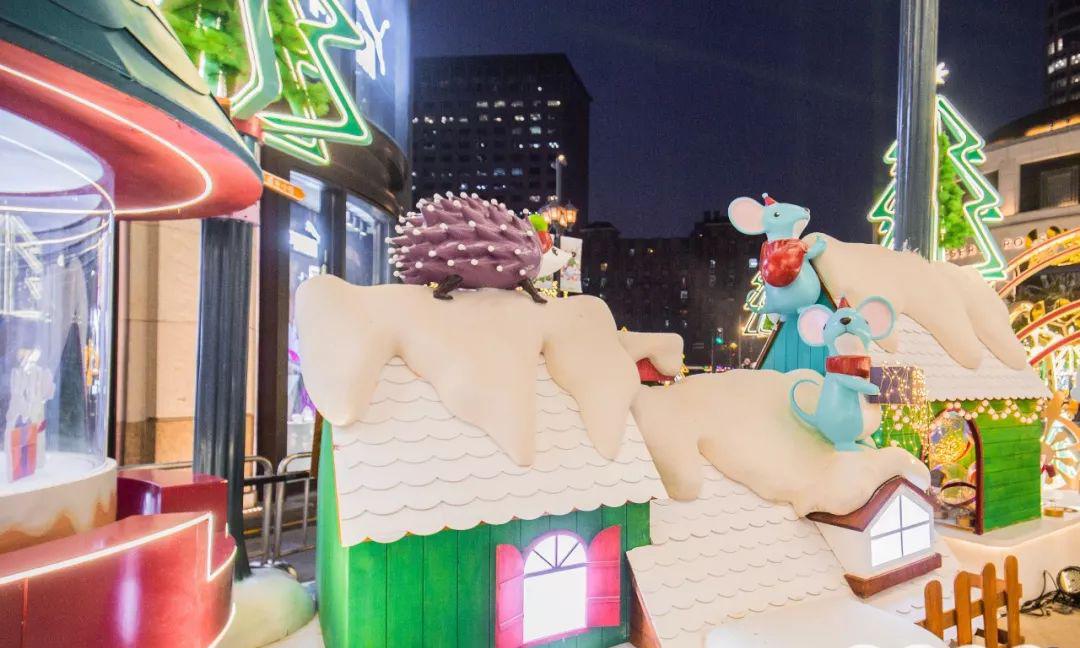 叮叮当叮叮当,铃儿响叮当!太古汇的圣诞商场美陈萌爆了!