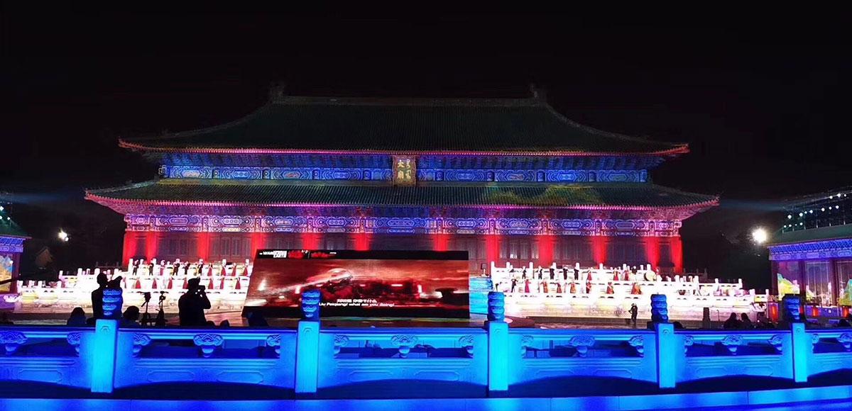 3D建筑投影把亚洲影视周刷高了一个级别
