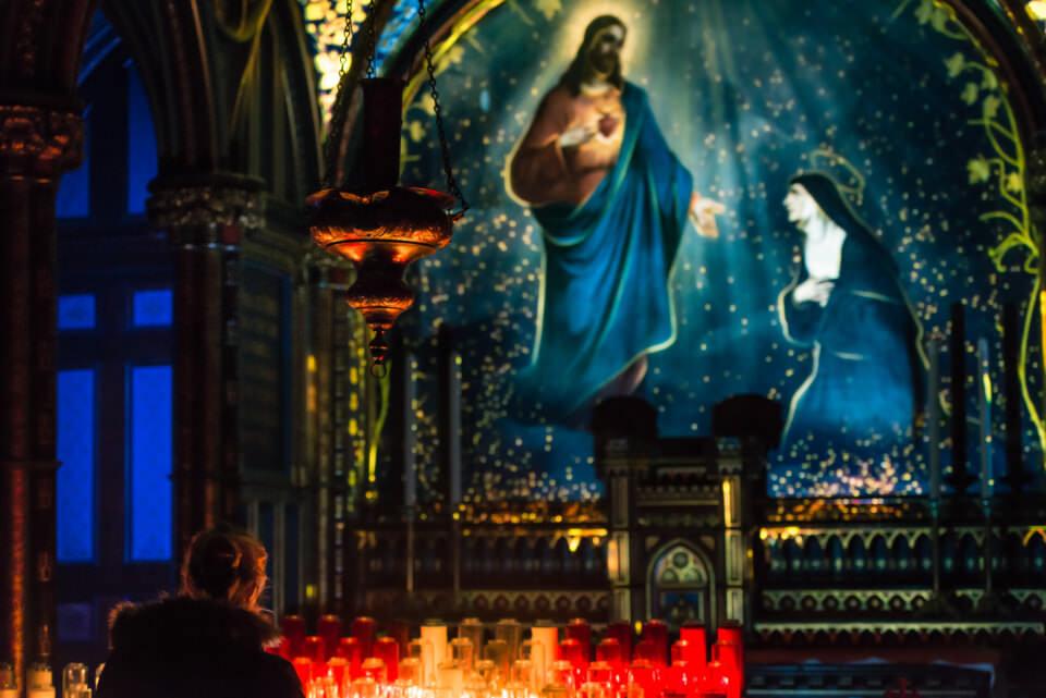 蒙特利尔圣母大教堂这场3D投影技术的声光秀太华美和壮丽了