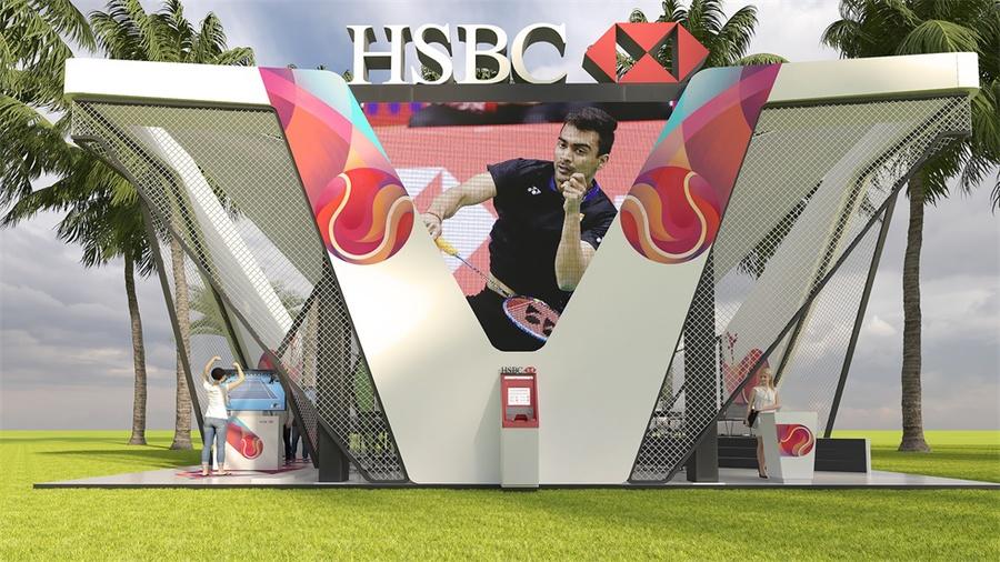 展览展示装置安在国际赛事上,这品牌曝光度想不高都不行啊