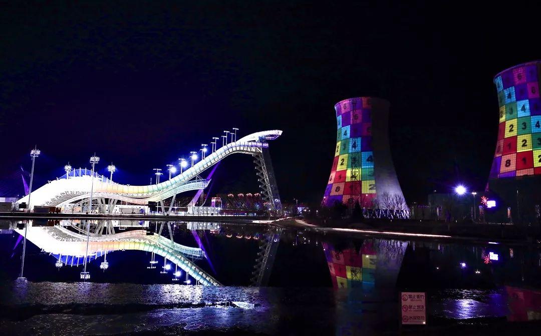 点亮高塔灯光秀,喜迎2022北京冬奥会