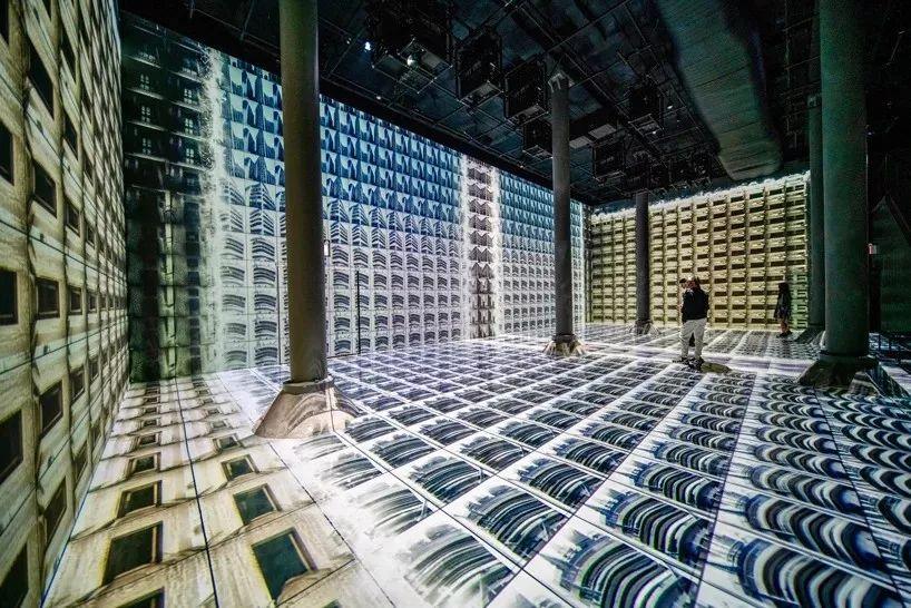 机器幻觉主题展览,一场沉浸式的数字艺术展览亮相了