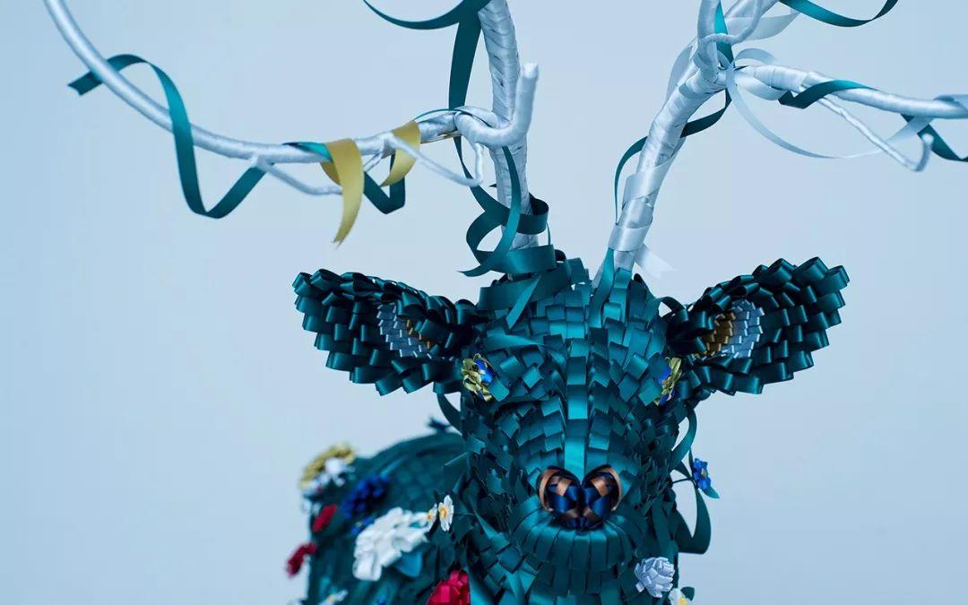 丝带王国这样的主题展览诠释了日本匠人前田麦的独特匠心