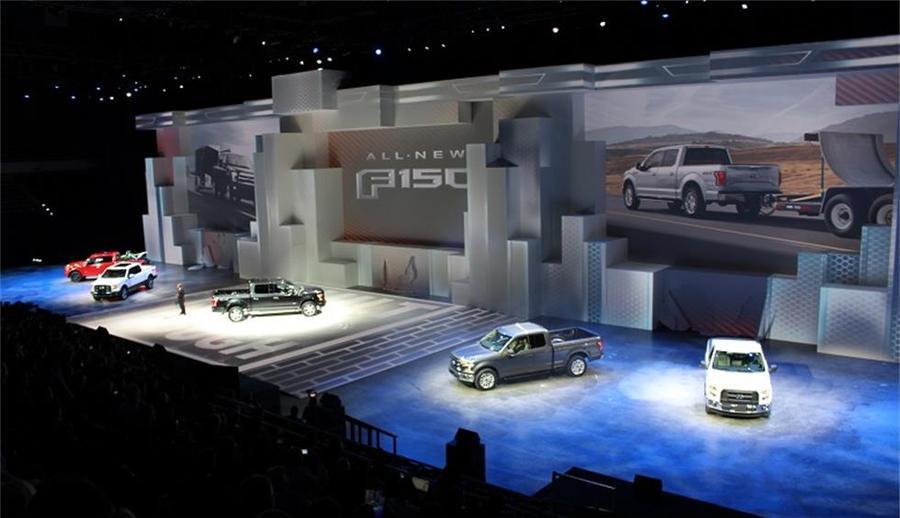 汽车发布会活动大胆落地冰球场地,亮相形式也出人意料