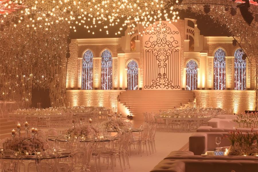 婚礼活动策划的舞美太烂漫了,不亚于国际盛会啊