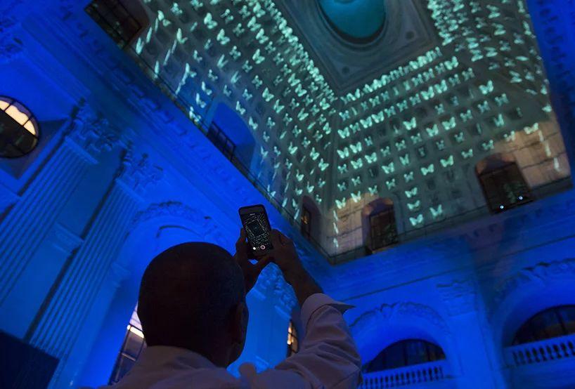 360°沉浸式灯光秀活动策划仿佛赋予了穹顶生命