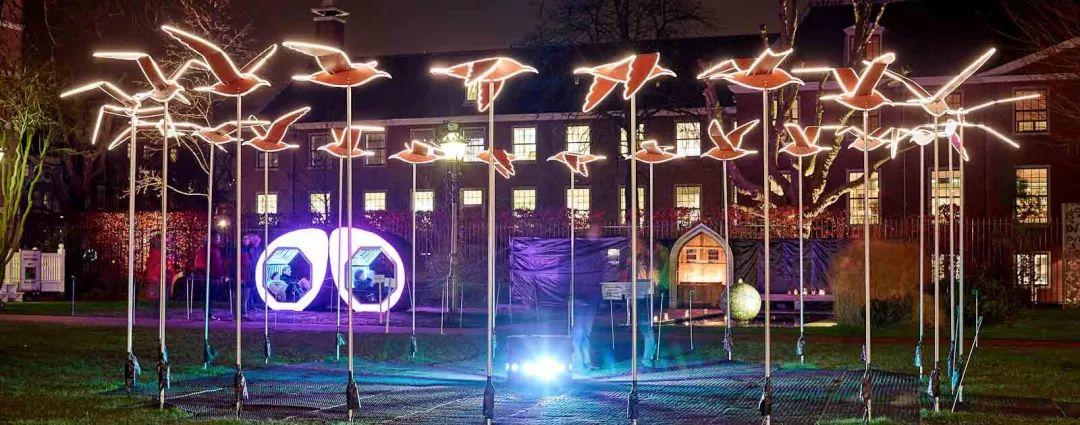 冬日的灯光秀活动策划,点亮了城市更暖了心里