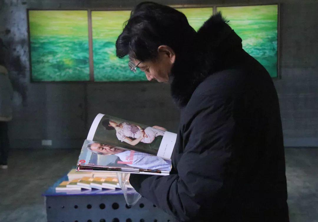季宏敏的主题展览活动,是对生命存在的另一种精神体验的探索
