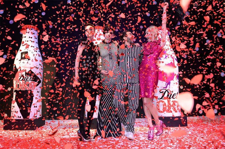闪耀了30年:健怡可乐30周年纪念活动