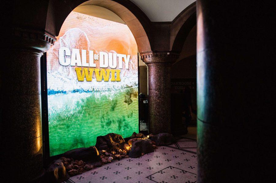 游戏使命召唤:二战测试版发布活动