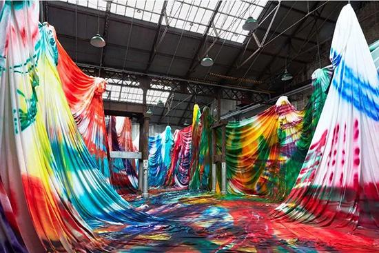 炸裂色彩的展览活动策划,重新定义我们对世界的认识