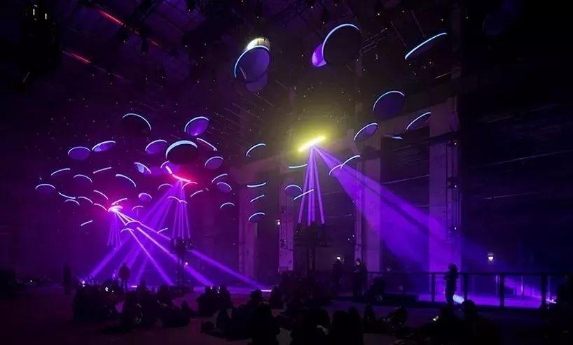 用一场灯光秀展览活动震撼视觉,让心灵为之倾倒