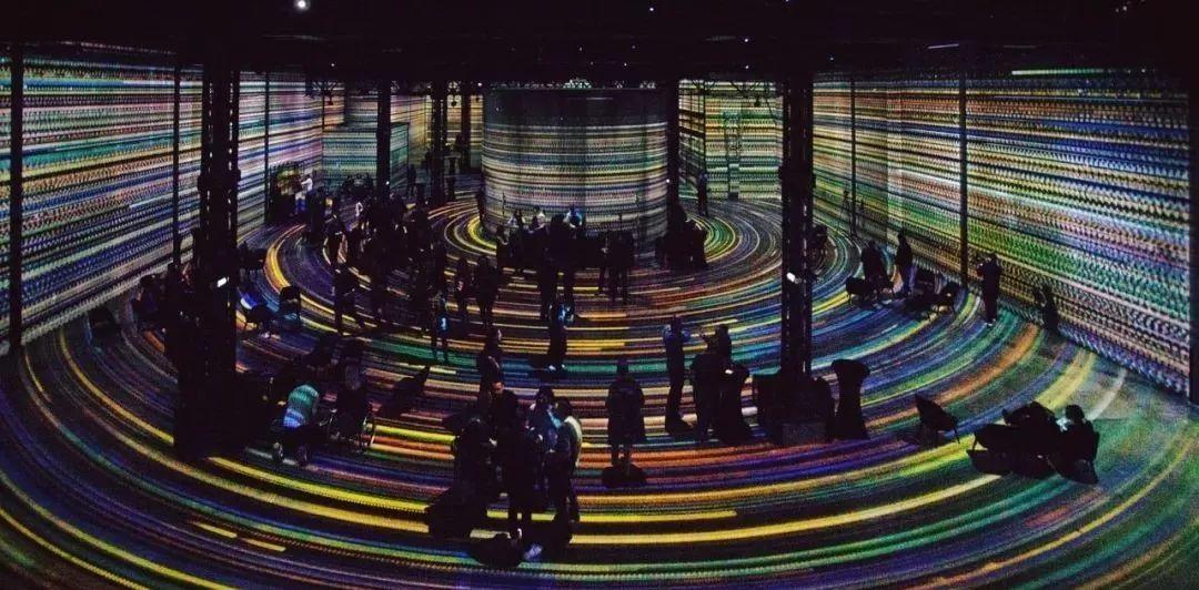 沉浸式光影展览活动,带你体验五层不同层次的基本光之旅