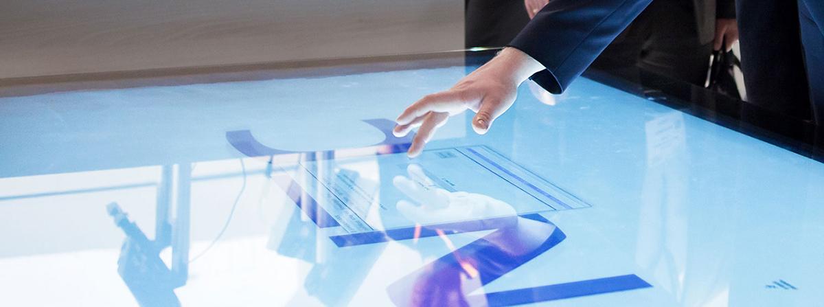 NEC互动式展览会设计,您的世界就是我们的陈列室