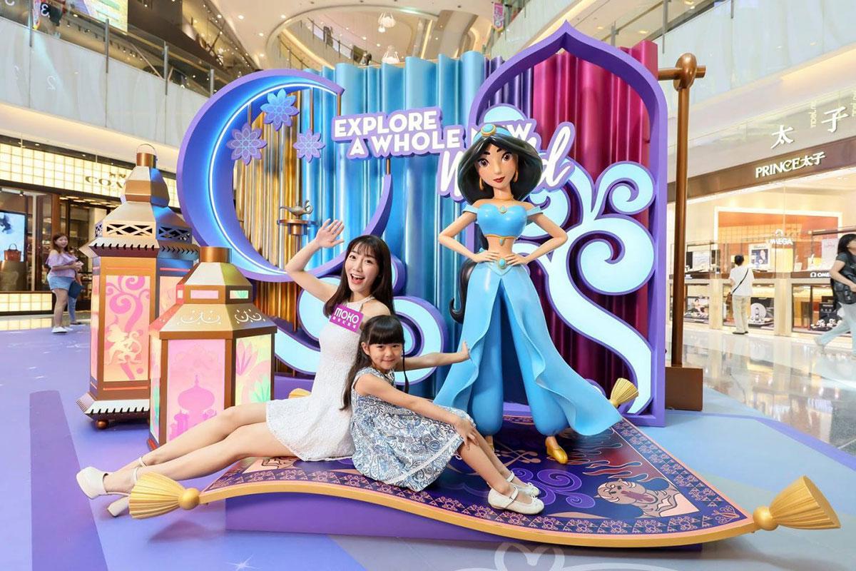 正能量的迪士尼公主主题快闪店闪耀着公主力量无敌