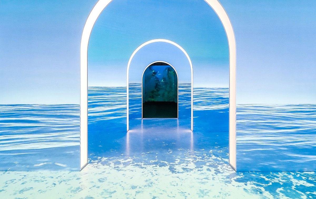 用光影艺术展示了海洋的另一种魅力,这个艺术展览带来了更多不一样的探索