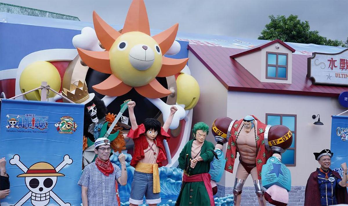 海洋公园One Piece夏水战正式拉响!