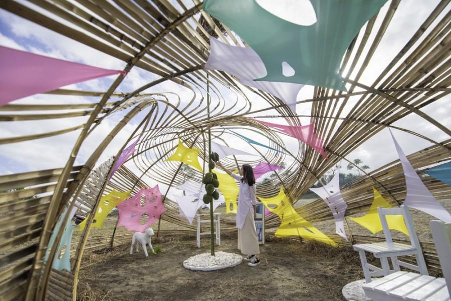 以地景艺术为媒介的沙丘艺术展览活动约你一起漫行沙丘感悟自然