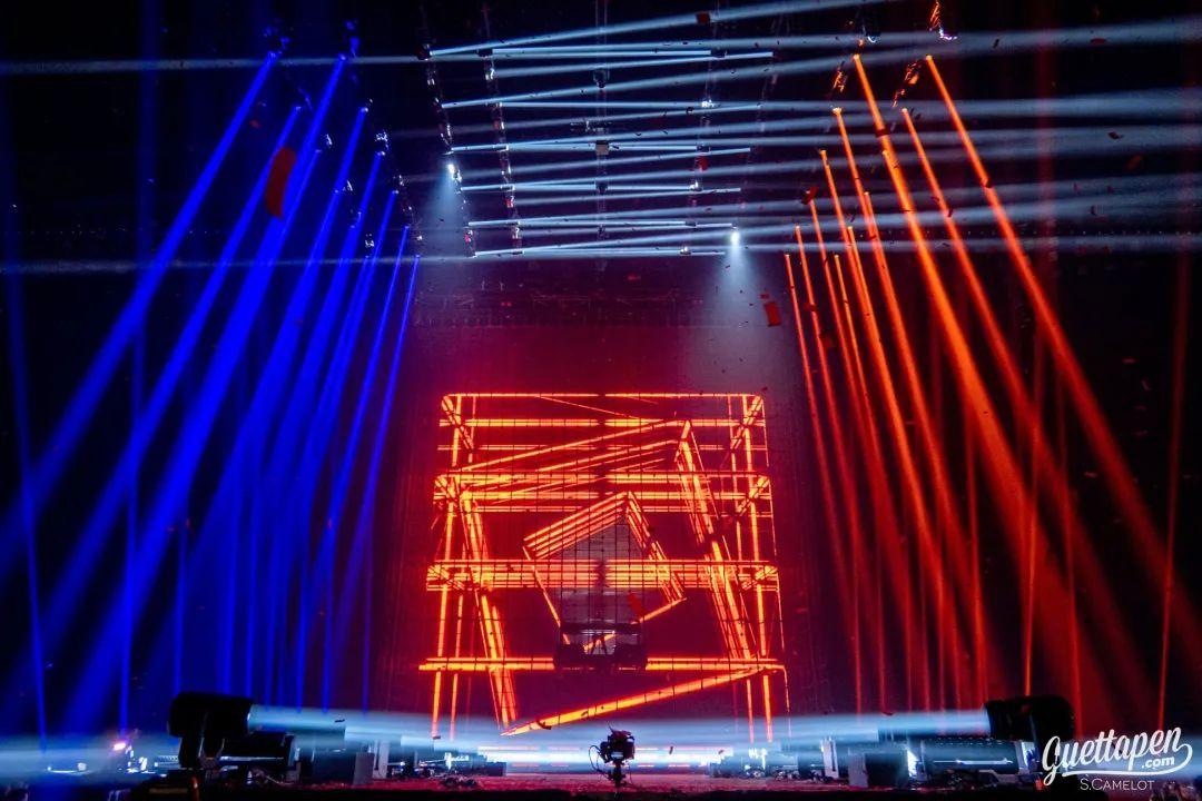 演唱会活动现场的舞美设计怎么能更震撼,Rave姿态就看这里了