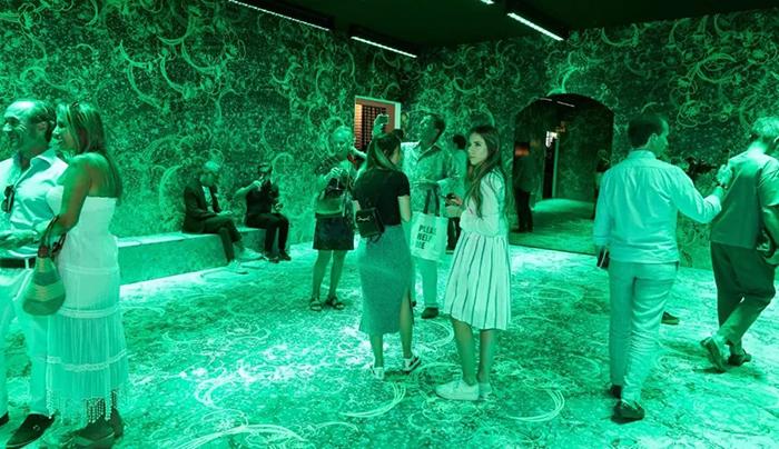 用光与色彩打造的艺术展览活动惊艳了世人,激活了呆滞的空间