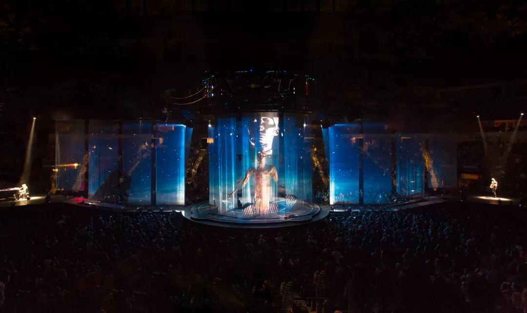 摇滚演唱会活动策划的舞美设计就像是复制了科幻小说场景,炫!