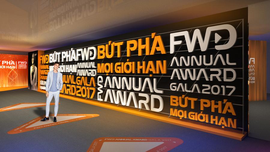 这届FWD的年度颁奖典礼活动个性化的舞美设计再次刷高了热度