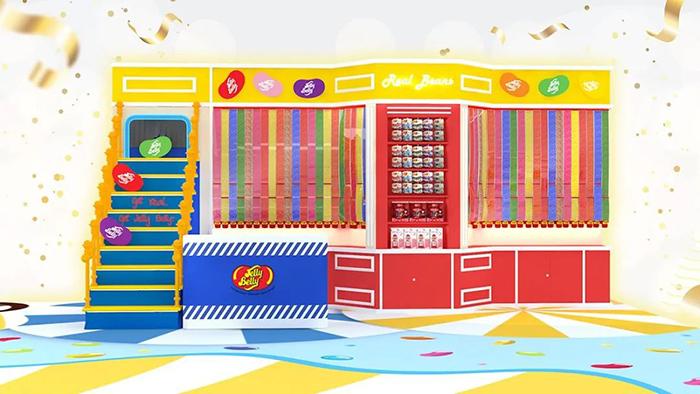 4000尺的糖果展览活动准备了潮流打卡点,还能DIY棒棒糖呢