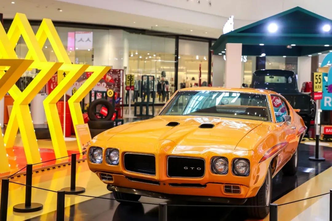 近距离打卡的经典汽车展览活动策划,体验一轮美式风情吧