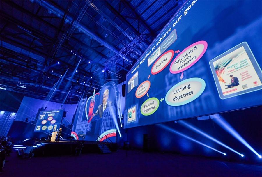 伦敦心脏病医学大会活动策划现场超1000个现场活动,震撼