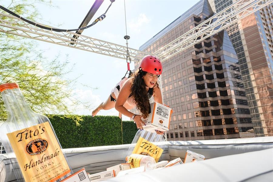 伏特加经销商冒险派对活动策划的极限音乐节就是要你嗨