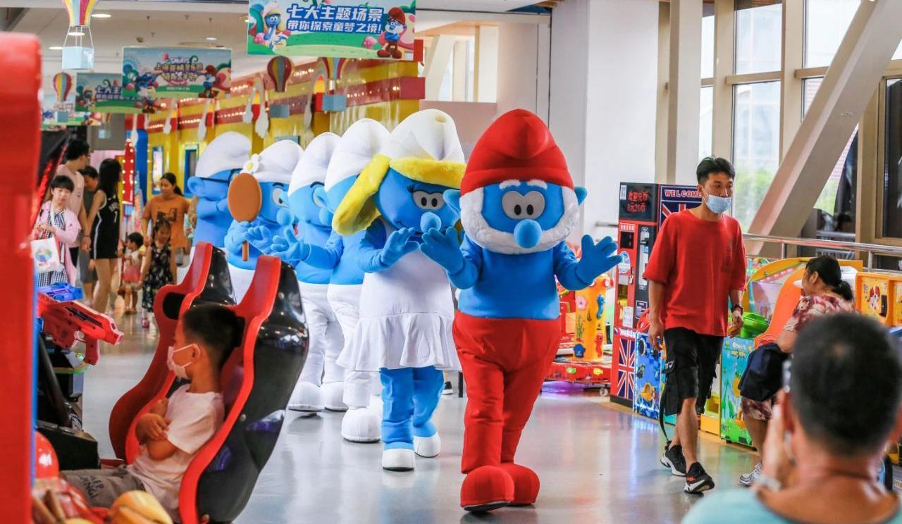 苏州蓝精灵主题活动策划了七大互动场景,带你快乐回蓝