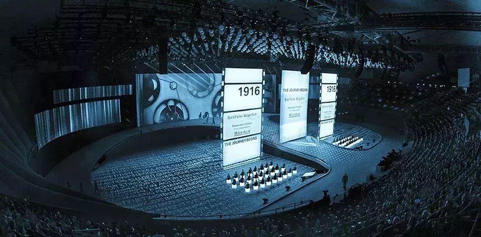 BMW未来百年周年纪念活动策划的舞美创下了三项吉尼斯记录