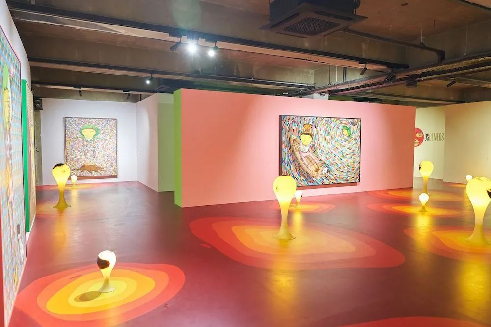 巴西双胞胎在首尔举办的沉浸式展览活动融合了嘻哈舞及霹雳舞