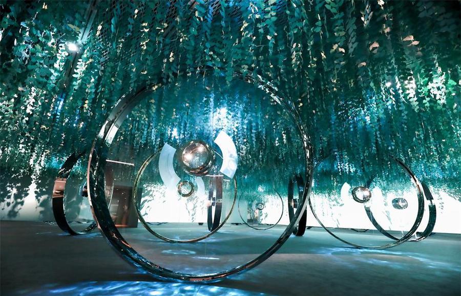蒂芙尼视觉与技艺展览活动策划的魔幻世界太有魅力了