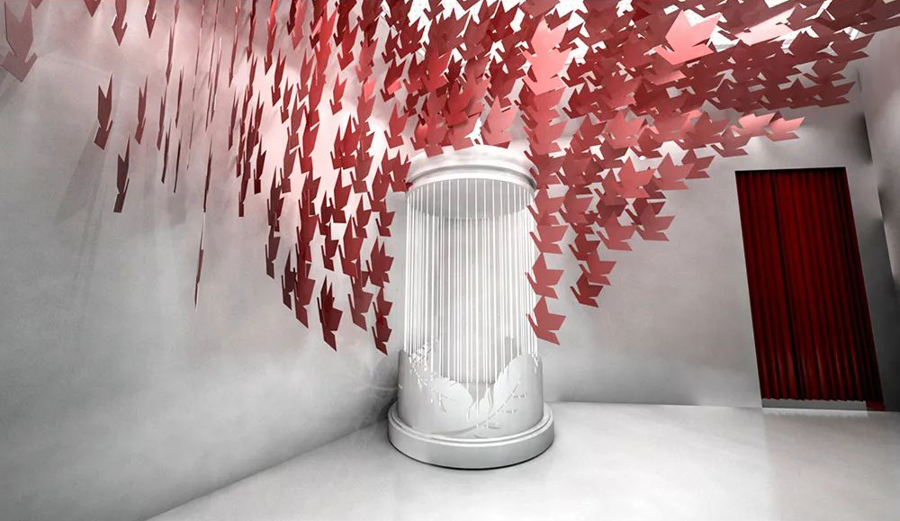 和平天使概念艺术展览活动策划四大主题展馆,流连忘返