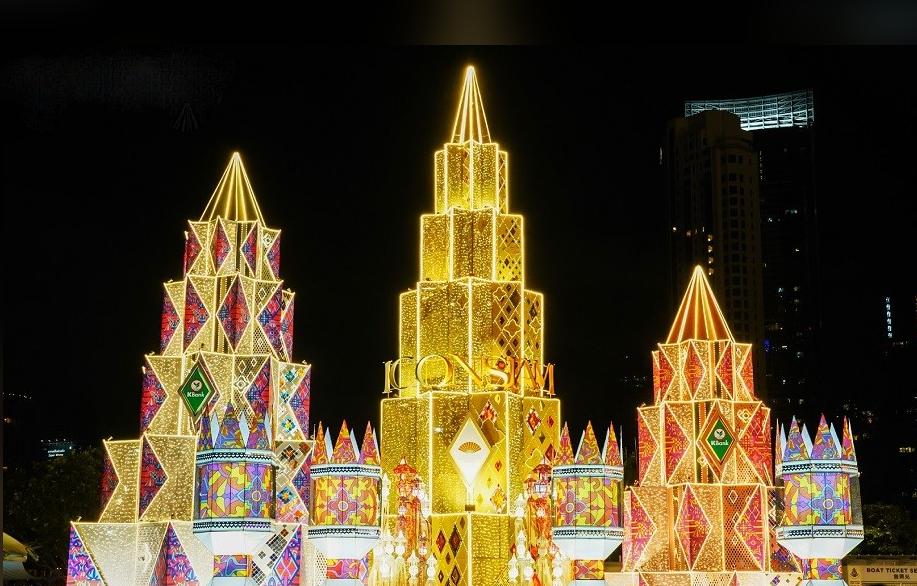 曼谷MAGIC COMES ALIVE圣诞节主题活动策划的灯光秀已成打卡胜地