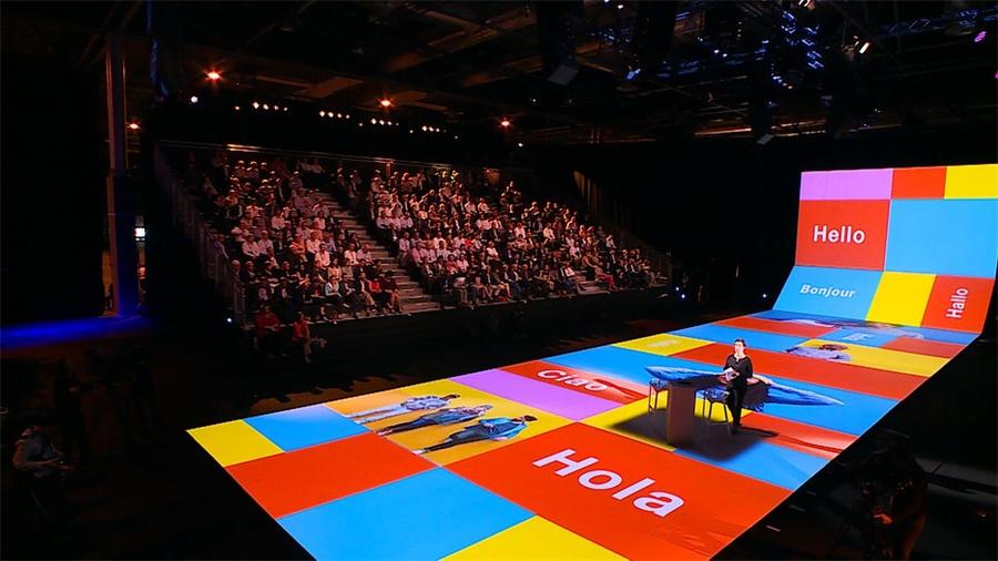 马德里橙色领导者会议活动策划沉浸式视觉体验很与众不同