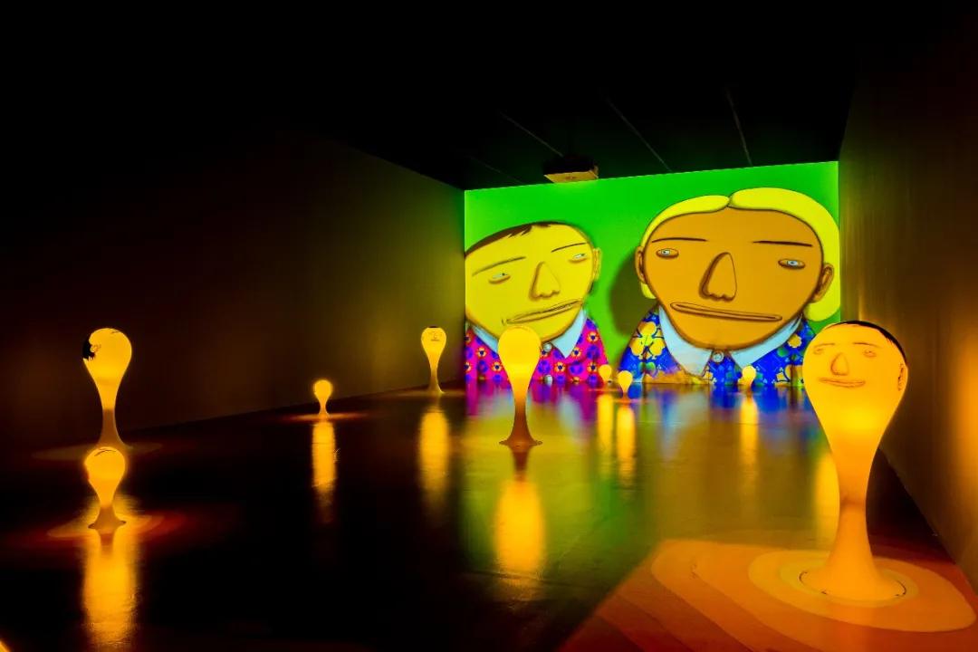 「奥斯吉美奥斯」展览活动策划再现黄色人物卡通形象,能量爆棚