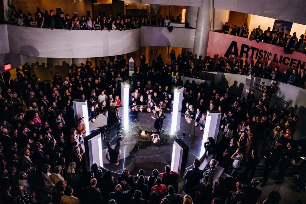 古根海姆国际庆典活动策划以派对拉开了序幕,用经典致敬神奇