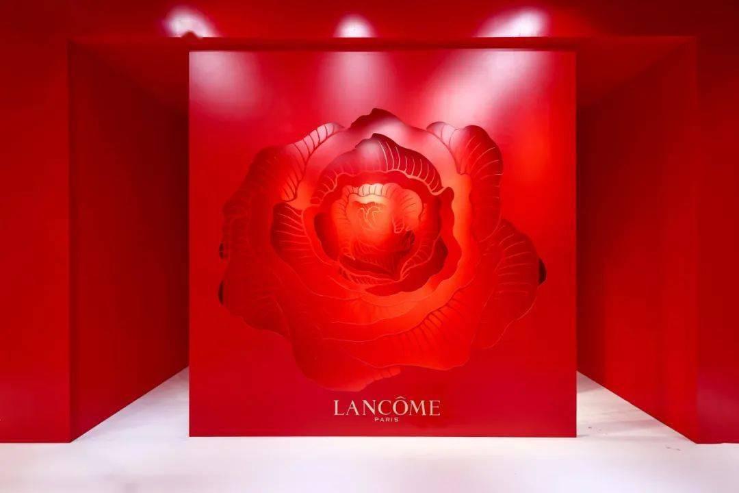「兰蔻新春游园会」活动策划的创意描绘满满都是中国年元素