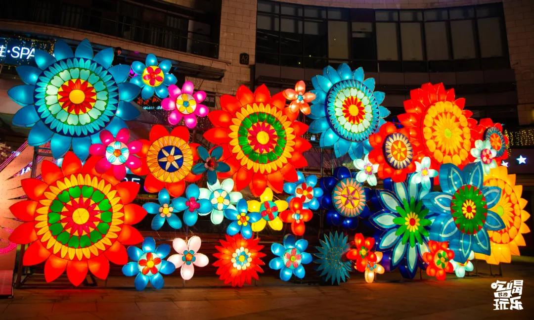 梅溪国际灯展览活动策划璀璨开幕,60+组大型灯光视觉太美