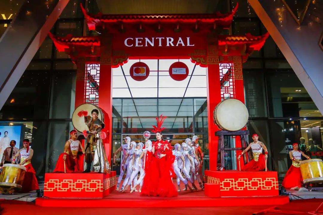 2021国外春节档的商场美陈活动策划别有一番风味,生命力滚滚