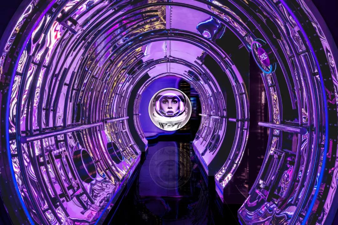 光之境沉浸式展览活动策划魅惑藍紫色带来的魔力令人怦然心动
