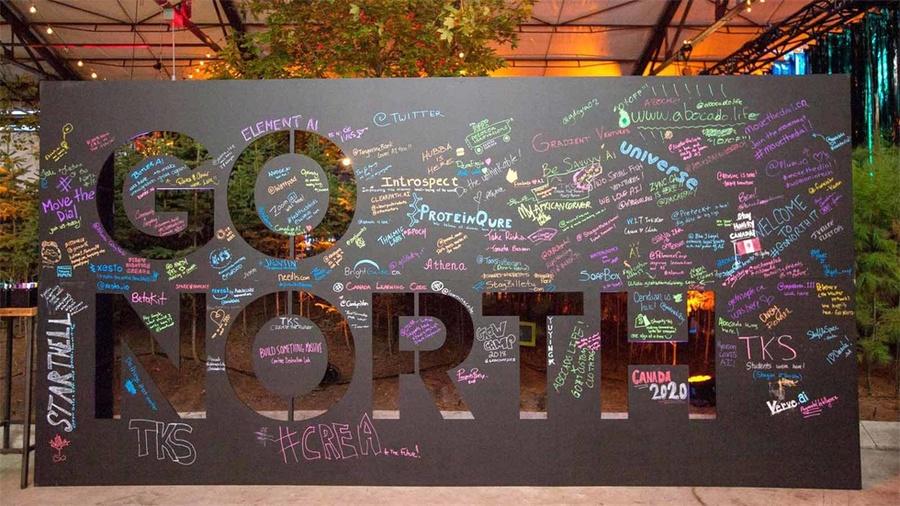 谷歌加拿大「北行」技术峰会活动策划的游乐场成了最受欢迎场所