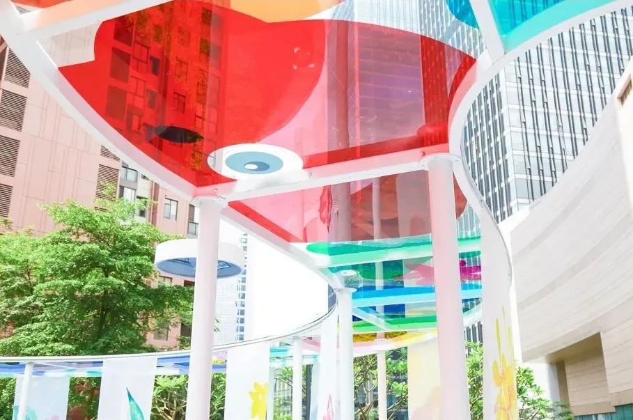 「与光·慢慢 TAKE YOUR TIME」公共艺术展览活动策划装置悄然出圈
