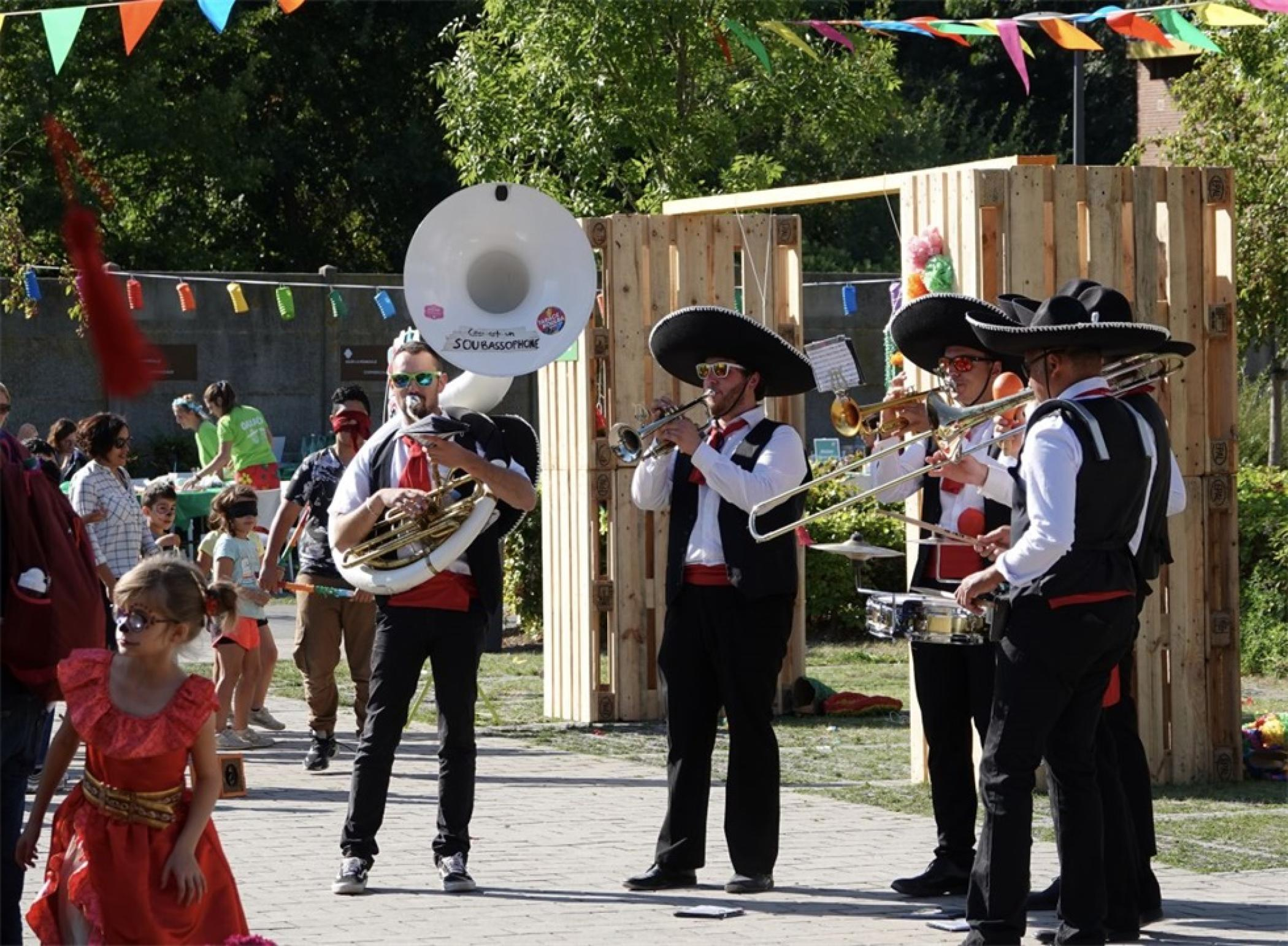 AG2R La Mondiale儿童节家庭日活动策划满是墨西哥文化氛围