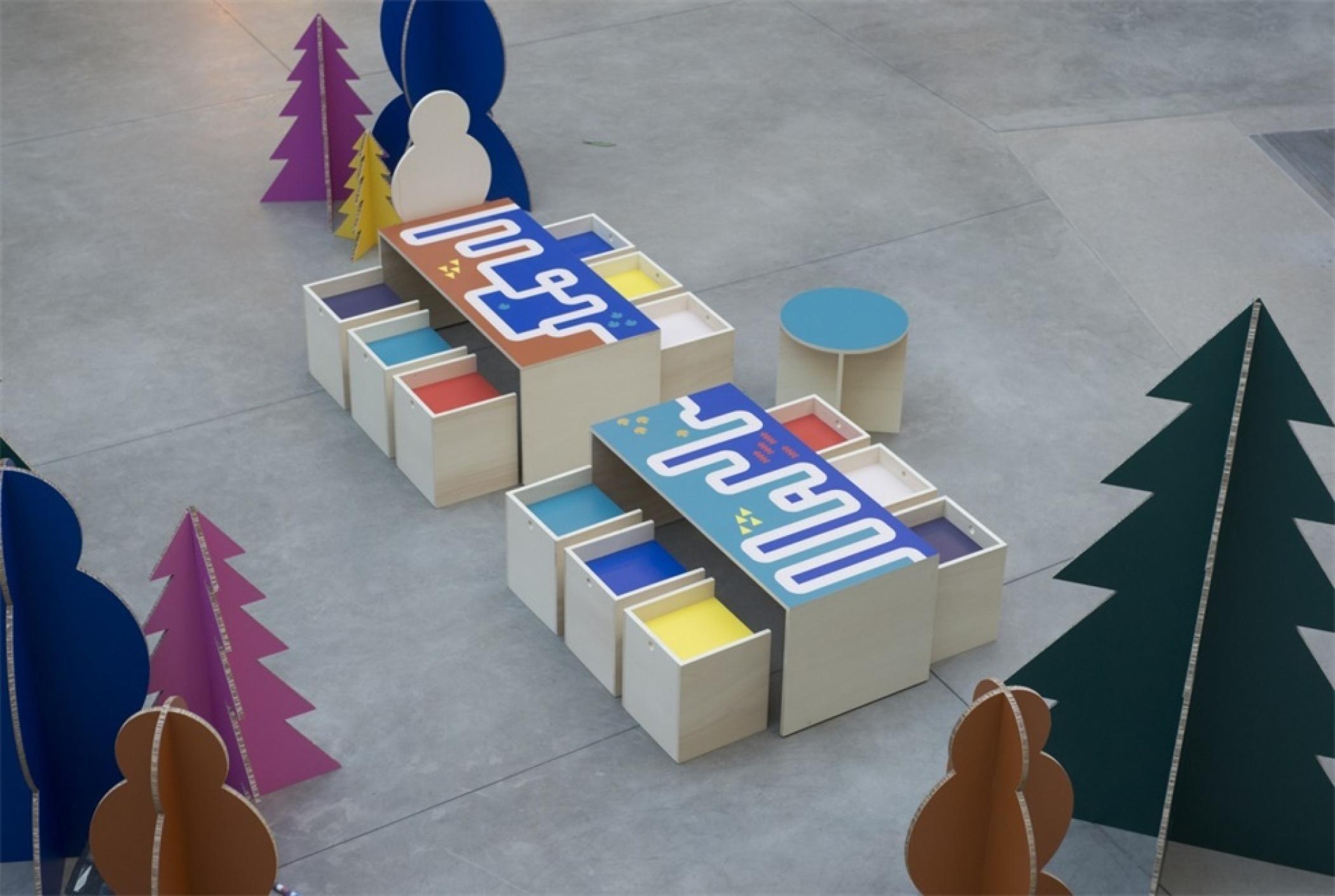 酒店推广活动策划的互动DIY营造了一个充满节日和乐趣的世界