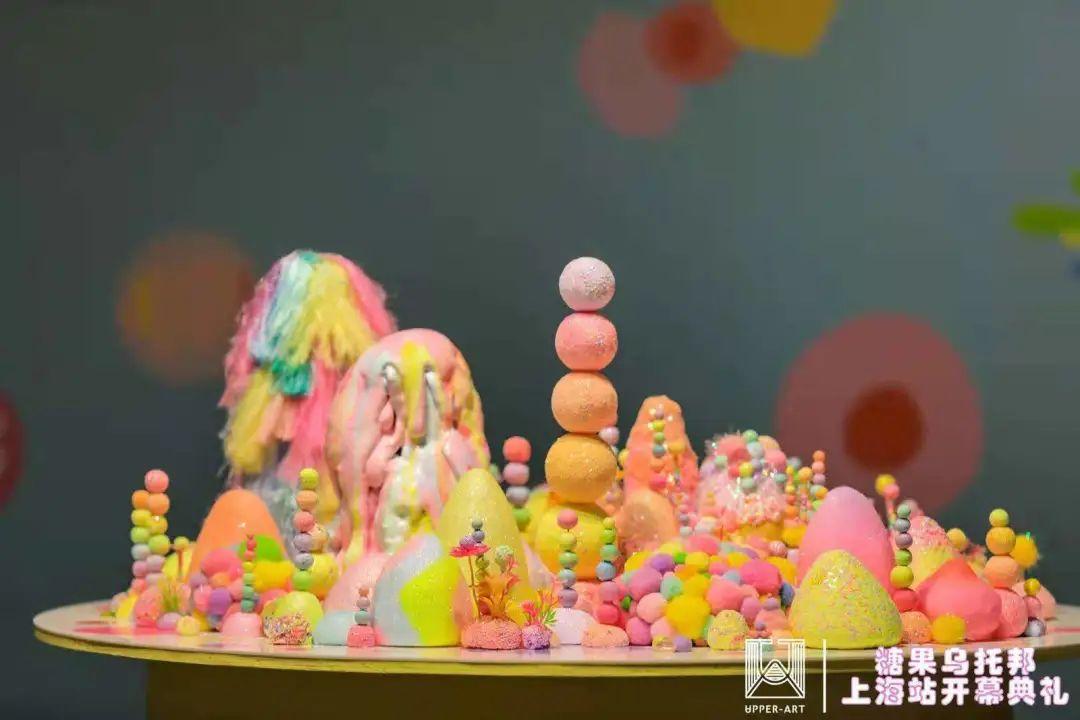 糖果乌托邦——Tanya Schultz全球巡回展览活动策划还能再甜点吗?